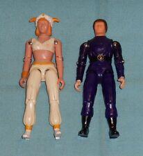 """vintage Buck Rogers KILLER KANE & ARDELLA 3 3/4"""" action figure lot"""