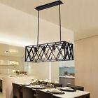 Black Chandelier Lighting Bar Large Pendant Light Kithcne Modern Ceiling Lights