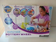Discovery Kids Motorized Pottery Wheel Paint Tile Creative Art Set