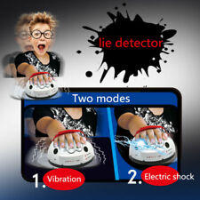 Truth Shocking Liar Shock Lie Detector Polygraph Adjustable Electric Adult Game