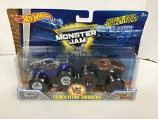 Son-uVa Digger vs Zombie Hunter Monster Jam Trucks (Hot Wheels)(2016)(Doubles)