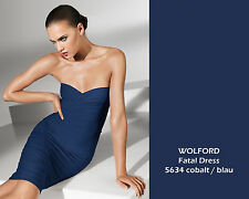 WOLFORD FATAL DRESS • M • cobalt / blau • BNWB  ... als Kleid, Rock, Mini, Top
