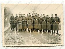 Foto, Gruppenfoto der Ortswachen, Einsatz in Kozienice, Polen, o (W)1390