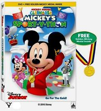 Disney Junior Mickey Mouse Clubhouse Mickey's Sport-Y-Thon Fun Kids Sports DVD