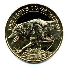 48 SAINT-LEGER-DE-PEYRE Loups du Gévaudan 3, 30 ans, 2015, Monnaie de Paris
