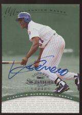 1997 Donruss Signature Set Break Vladimir Guerrero Millennium Marks Auto /1000