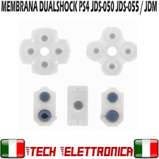 Set ricambi PS4 membrana V2 tasti DUALSHOCK Silicone JDS-050 JDS-055 JDM-050 055