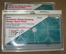 New ListingLot 4 Sears Kenmore 22-50184 Clean-Cooking Range Hood Filters - Clean Air Sensor