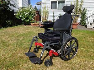 Fuze T-50 - 50° Manual Tilt Wheelchair.