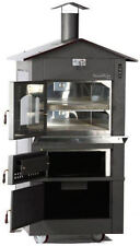 IncendiForno WO-IT-0620-L Italian Wood-burning Pizza Oven Stove w/Roof (LARGE)