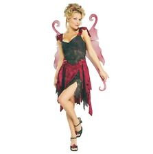 Halloween Karneval Kostüm Midnight Fairy Elfe Fee Flügel Märchen Sexy STD