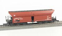 ROCO Spur H0 4370B Selbstentladewagen Fad 150, 6-achsig, DB, Epoche IV, AC