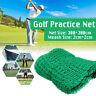 Schwerlast Golf Training Übungen Netz Impact Netz 4 Seiten Seil Grenze 300x300cm