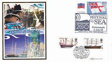 3 LUGLIO 2005 FESTIVAL DEL MARE BENHAM COMMEMORATIVO Copertura Portsmouth/Trafalgar