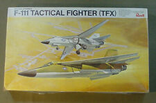 VINTAGE REVELL F-111 TACTICAL FIGHTER TFX 1/72 SCALE PLASTIC MODEL AIRPLANE KIT