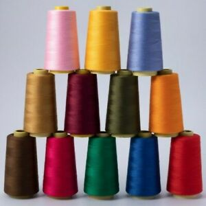 3000 Yards Sewing Thread 40S/2 Polyester Threads Apparel Sew Accessory Costume