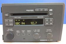 VOLVO S60 V70 XC70 4 DISC CD CHANGER RADIO PLAYER HU-803 HU803 STEREO DECODED