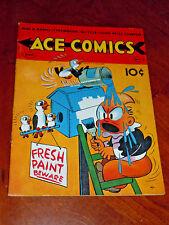 ACE COMICS #48 (DAVID McKAY 1941) FINE (6.0) cond.   JUNGLE JIM, PRINCE VALIANT