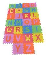 Kids Play Mats Eva Foam Alphabet A to Z Childrens Floor Puzzle Pack of 26 Tiles
