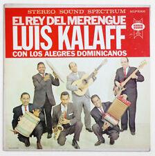 LUIS KALAFF El rey del merengue dominican republic US seeco SCLP 92410 STEREO LP