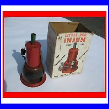 "VERY RARE VINTAGE ""Little Red Injun"" Steam Engine Complete and original"