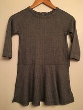 GAP KIDS Girls  Herringbone Dress Black n White Size Small 6-7 NWT