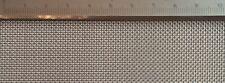 Edelstahl Drahtgewebe mit 0,87mm Maschenweite, 0,4mm Drahtstärke 20cm x 20cm