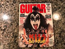 October 1998 Guitar World Magazine! Kiss Psycho Circus! Cradle Of Filth & Korn