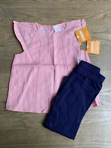 NWT GYMBOREE GIRLS OUTFIT - TANK TOP & LEGGINGS - SIZE 4T