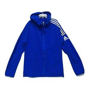 Adidas ZNE HD Woven Hoodie Men's Athletic Full Zip Performance Waterproof Jacket