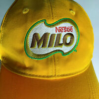 Nestle Milo Baseball Hat Cap Yellow Collectible Advertising