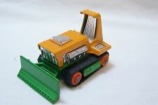 Vintage Matchbox No 12 Big Bull Bulldozer - Made In England By Lesney