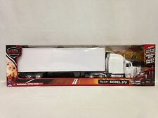 Peterbilt 379 w/ Dry Van Trailer, Collectibles, 1:32 Diecast, New Ray Toy, White