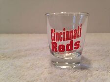 MLB Cincinnati Reds Shot Glass Baseball barware man cave