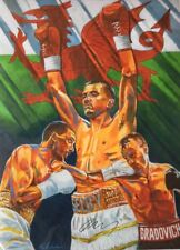 Lee Selby Signed Art Print - Original commissioned by St Josephs Boxing Club