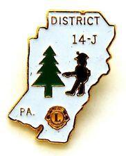 Pin Spilla Lions International District 14 - J PA. Philadelphia (Taiwan)