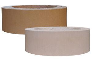 Lederriemen Blankleder natur, Punzierbar, Vollleder zum Färben und Punzieren