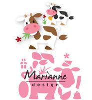 COL1410 Stanzschablone Eline´s Eichhörnchen von Marianne Design