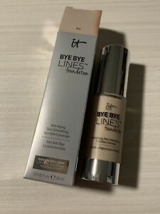 New IT Cosmetics Bye Bye Lines Foundation FAIR 1oz New In Box