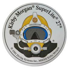 Kirby Morgan SL 27 Front View Circular Sticker