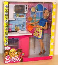 Barbie Wohnaccessoire Deluxe Küche mit Puppe DVX54 NEU/OVP Möbel