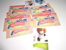 8 Packungen REWE Disney Sticker * 8x4 REWE Mitmach-Sticker Disney Neu
