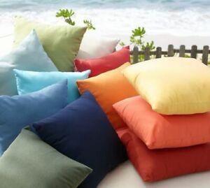 2 PC Pillow Case 1000 TC Egyptian Cotton King Size Solid Colors