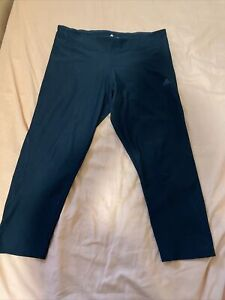 Ladies Adidas Climalite 3/4 tights black medium Gym Running Fitness