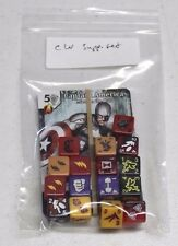 Marvel Dice Masters CIVIL WAR Starter SUPPLEMENT SET w/ Extra Dice