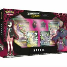 Pokemon Champion's Path Premium Collection Marnie Box