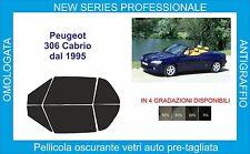 film solar vidrio peugeot 306 cabrio de 1993 al 2002 kit completo
