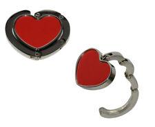 2 Stück  Metall Handtaschenhalter Taschen Halter Herz Form Handbag Butler