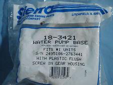 Sierra Water Pump Base 18-3421 NEW