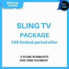 SlingTV   Orange Blue + 4 Extra   Lifetime Warranty